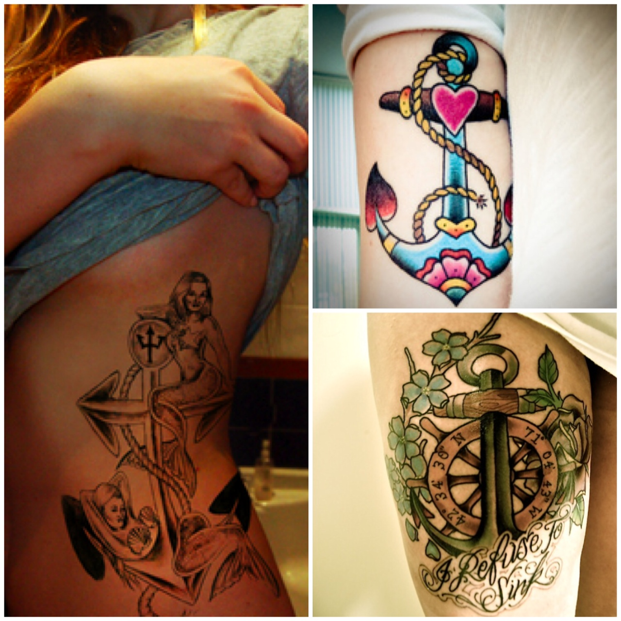 De Ancora Marinheiro Jerry Tattoo Tattoos In Lists For Pinterest